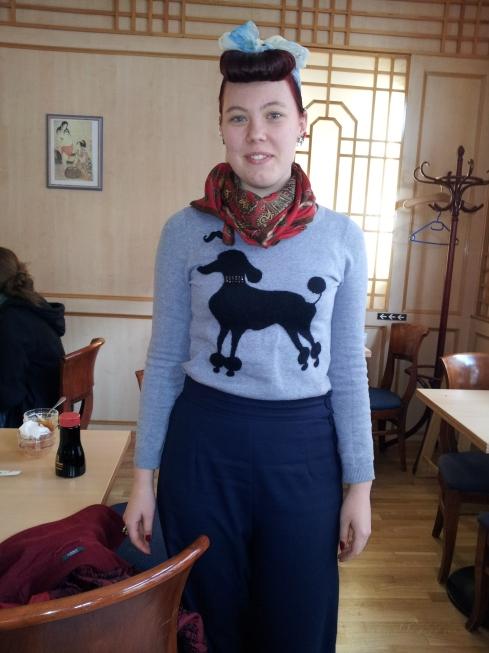 Vilde Mariussen, Studentin, aus Norwegen